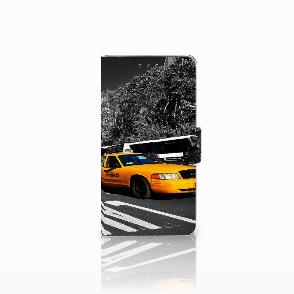 LG Q6 | LG Q6 Plus Boekhoesje Design New York Taxi