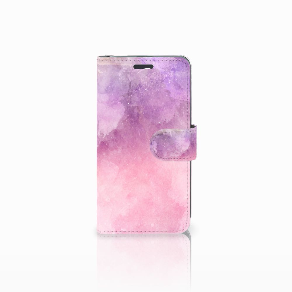 Acer Liquid Z520 Boekhoesje Design Pink Purple Paint