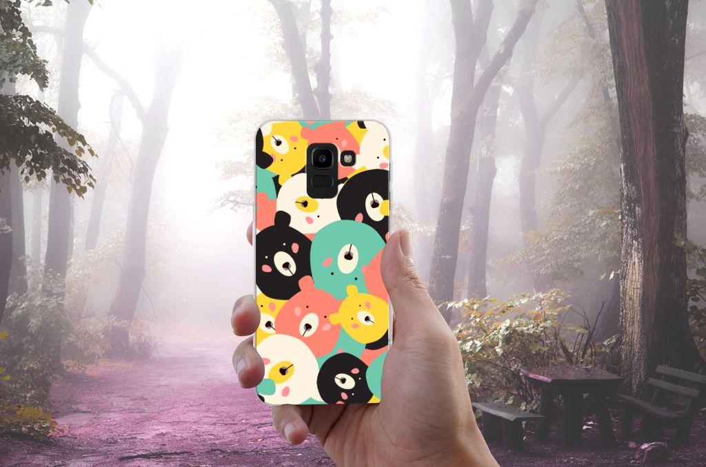 Samsung Galaxy J6 2018 Uniek TPU Hoesje Bears