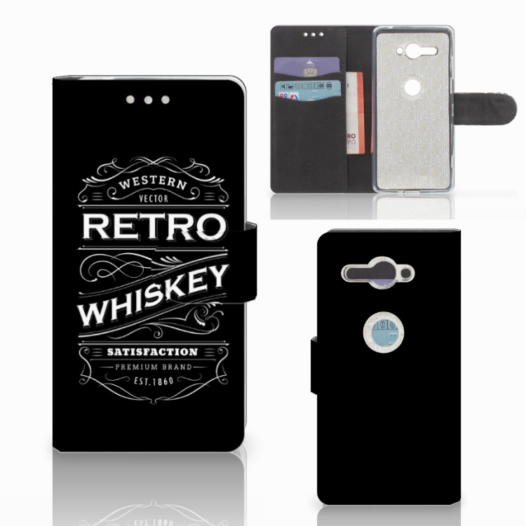 Sony Xperia XZ2 Compact Book Cover Whiskey