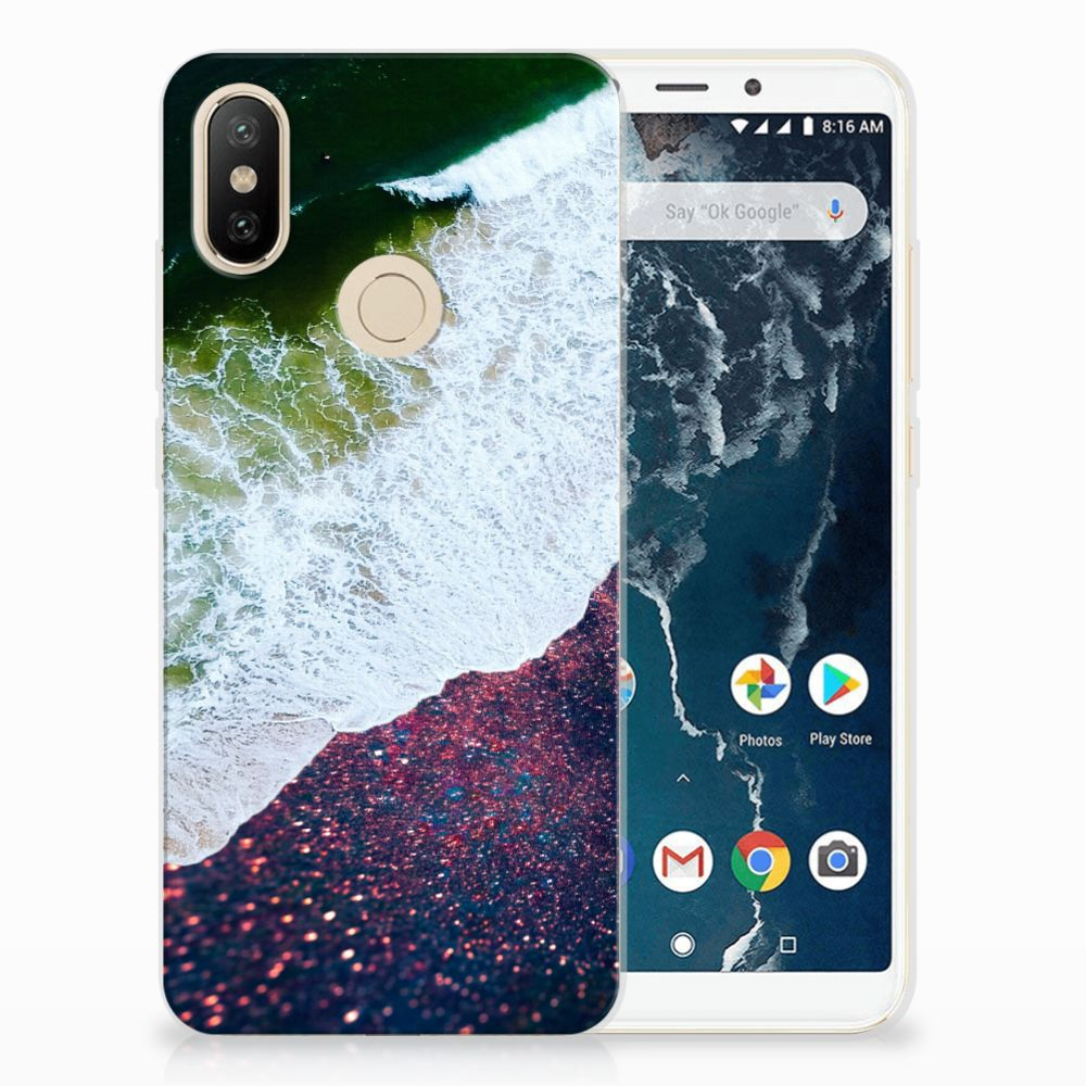 Xiaomi Mi A2 TPU Hoesje Sea in Space