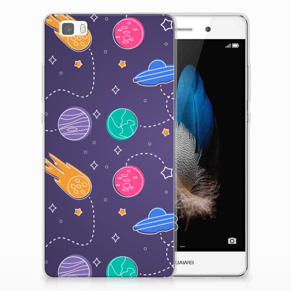 Huawei Ascend P8 Lite Silicone Back Cover Space