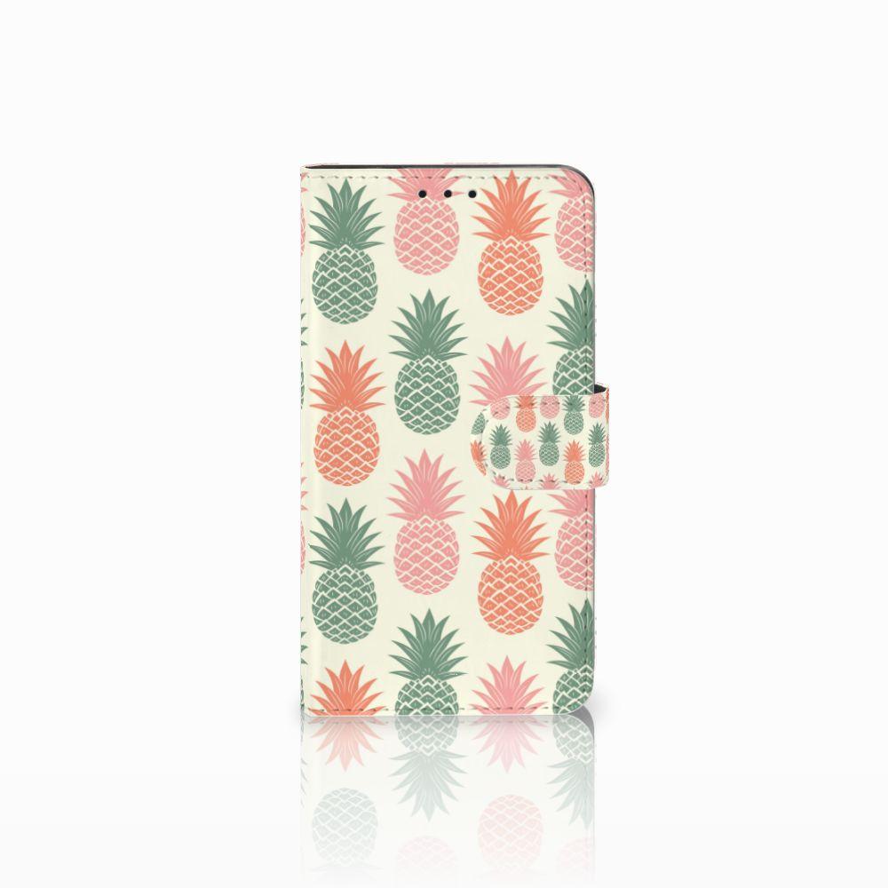 Huawei Honor 6X Boekhoesje Design Ananas