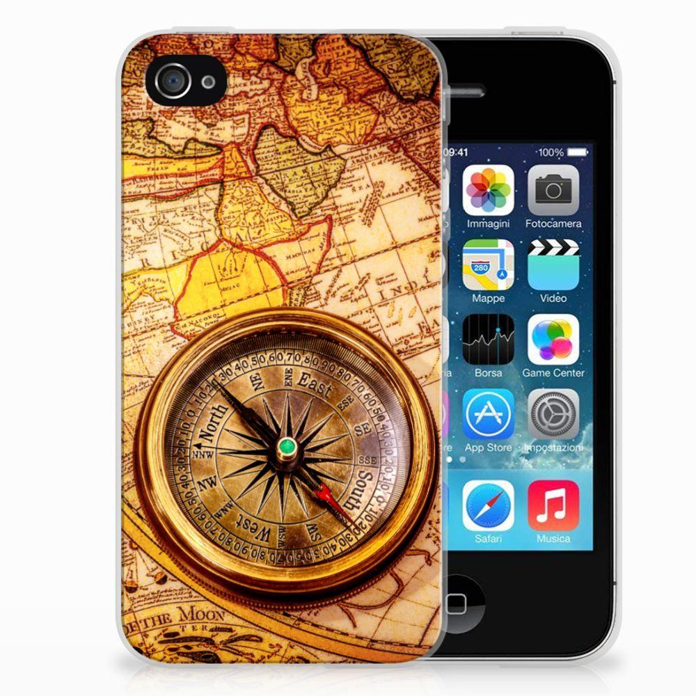 Apple iPhone 4 | 4s TPU Hoesje Design Kompas