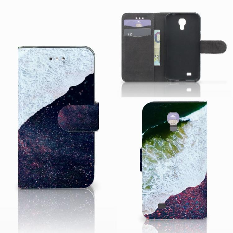 Samsung Galaxy S4 Bookcase Sea in Space
