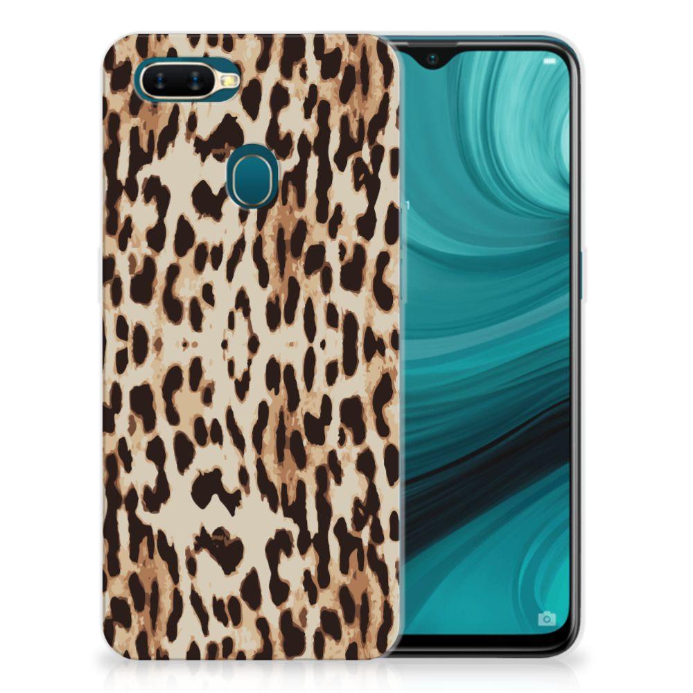 OPPO AX7 TPU Hoesje Leopard