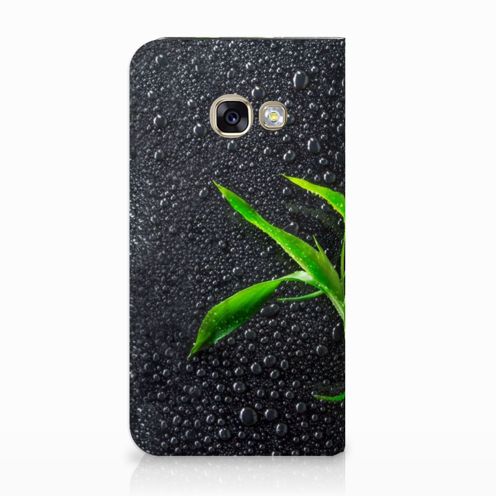 Samsung Galaxy A3 2017 Standcase Hoesje Design Orchidee