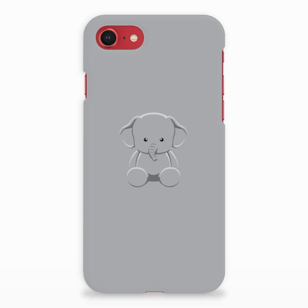 Apple iPhone 7 | 8 Uniek Hardcase Hoesje Baby Olifant