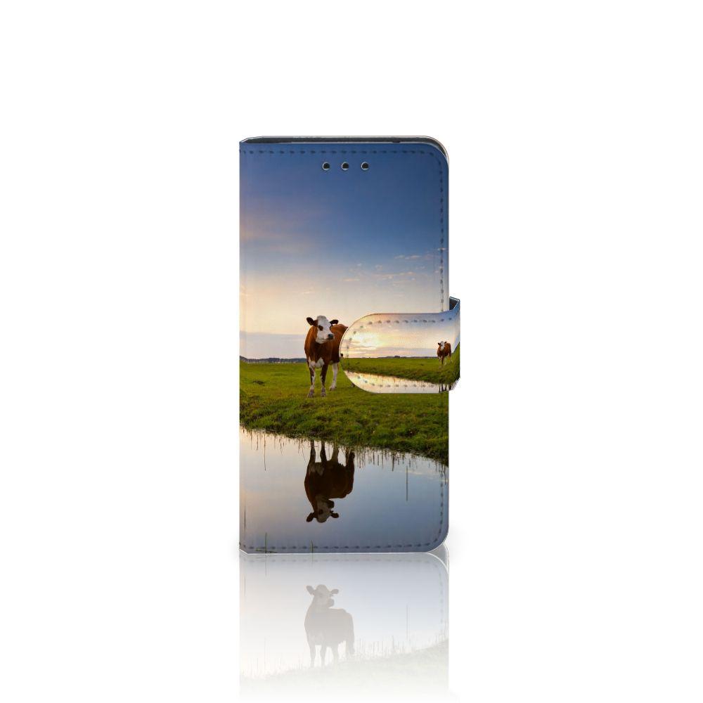 Samsung Galaxy S5 Mini Boekhoesje Design Koe