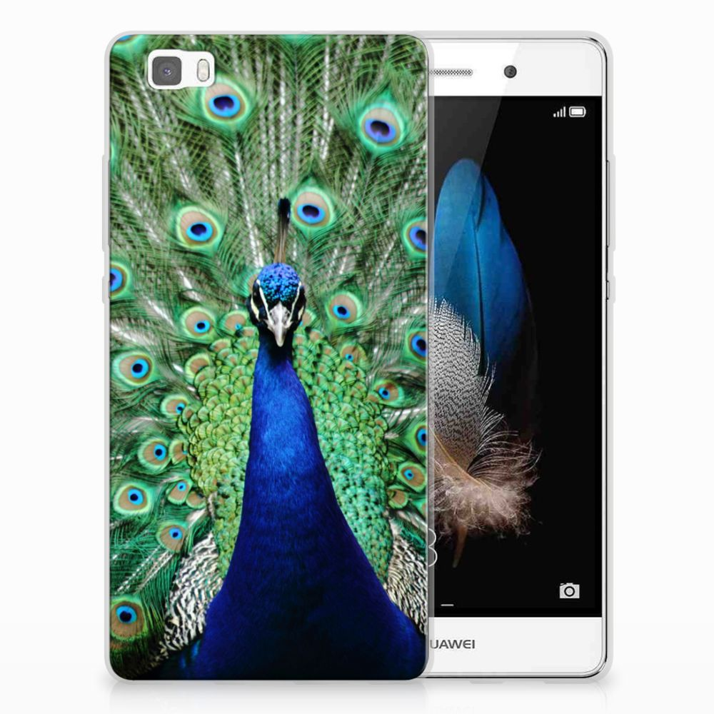 Huawei Ascend P8 Lite TPU Hoesje Design Pauw