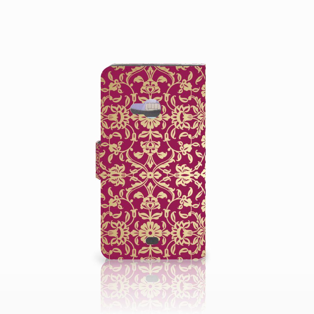 Wallet Case Microsoft Lumia 535 Barok Pink