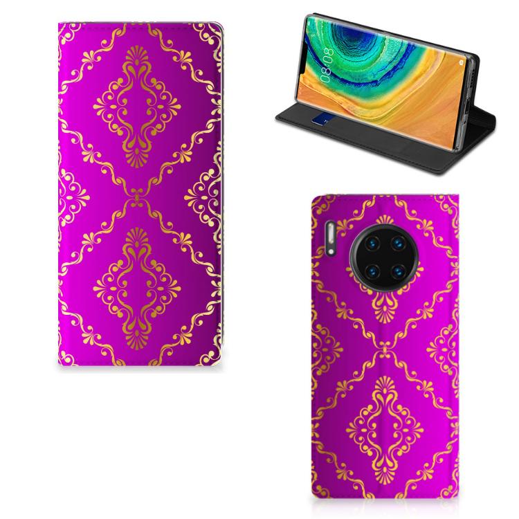 Telefoon Hoesje Huawei Mate 30 Pro Barok Roze