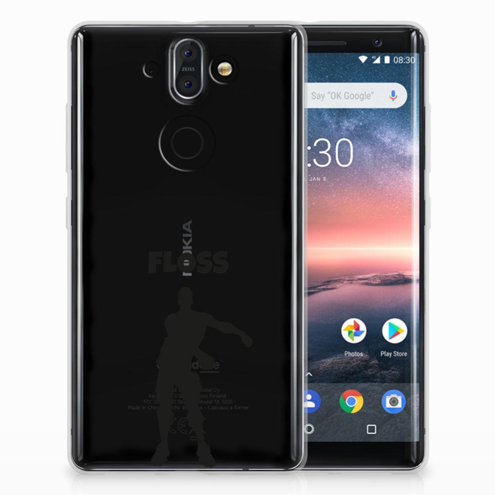 Nokia 9 | 8 Sirocco Uniek TPU Hoesje Floss