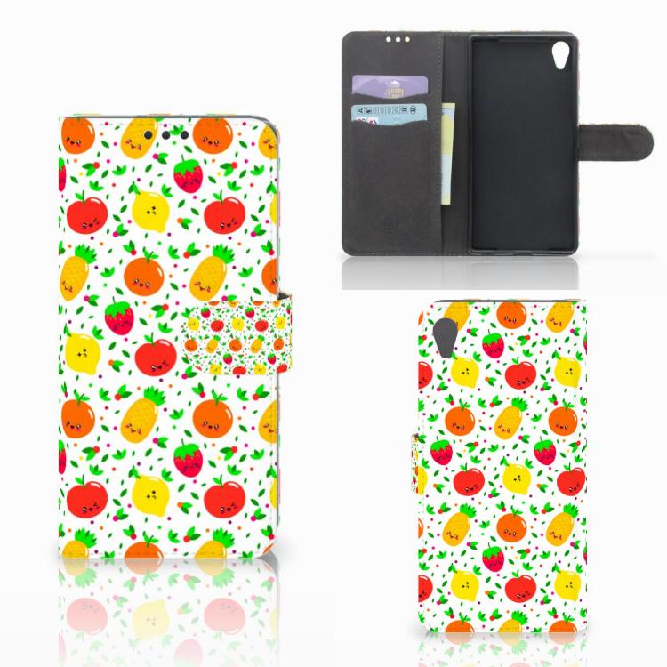 Sony Xperia Z5 Premium Book Cover Fruits