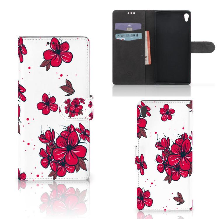 Sony Xperia XA Ultra Hoesje Blossom Red