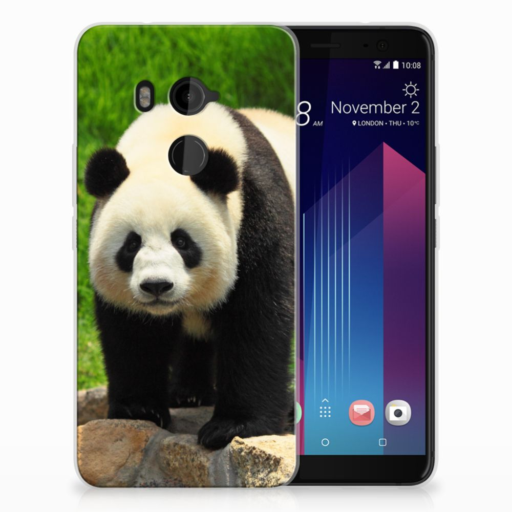 HTC U11 Plus TPU Hoesje Design Panda
