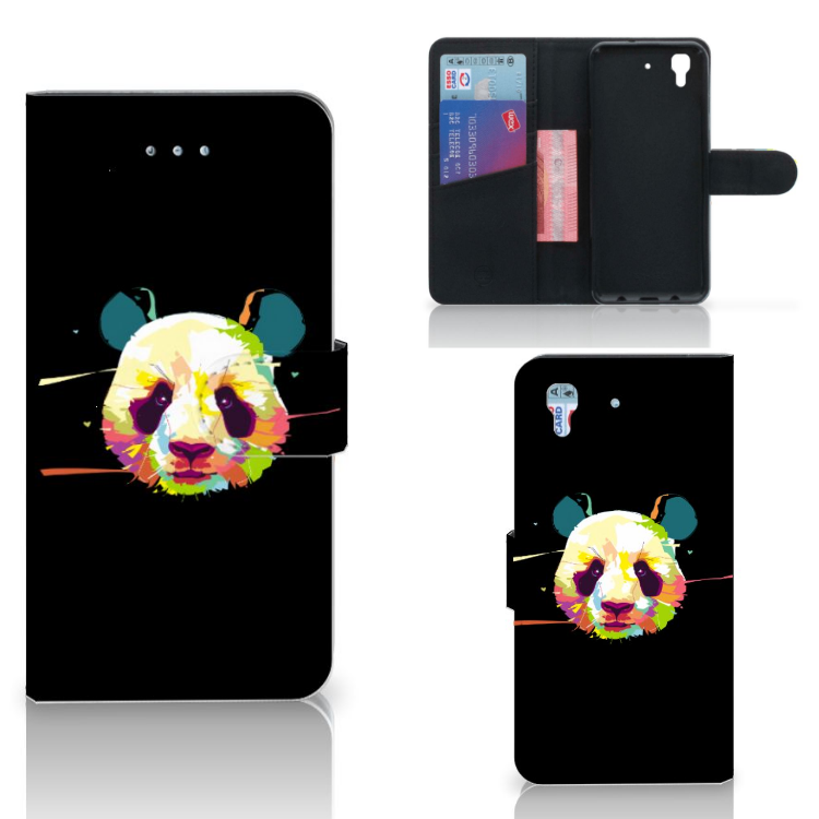 Honor 4A | Y6 Leuk Hoesje Panda Color