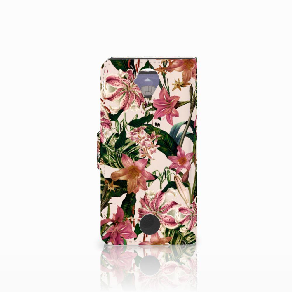 Acer Liquid Z330 Hoesje Flowers