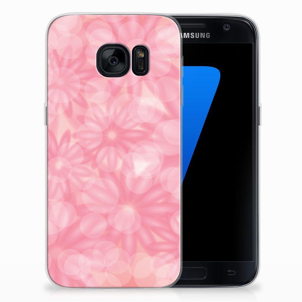 Samsung Galaxy S7 TPU Case Spring Flowers