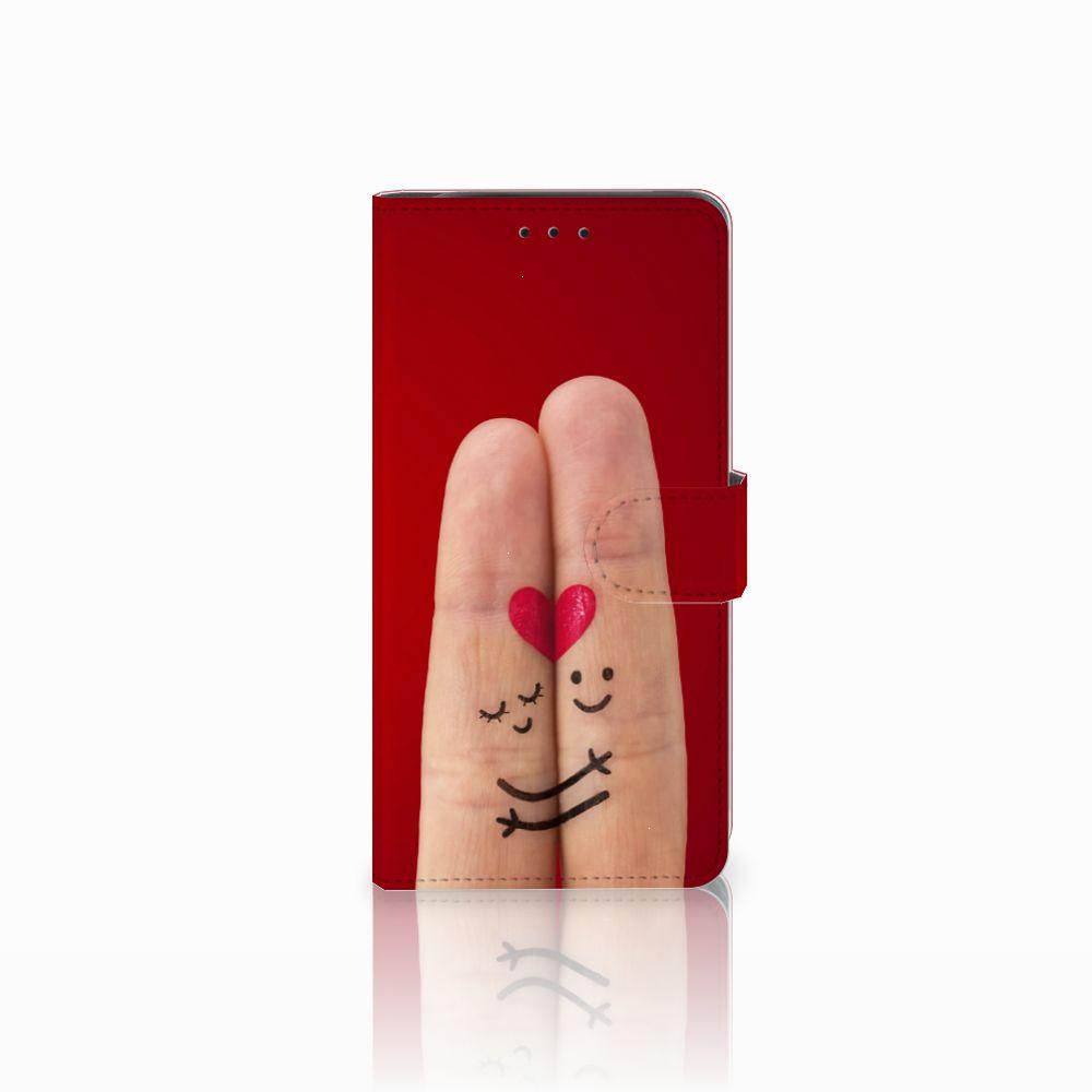 Samsung Galaxy J6 Plus (2018) Wallet Case met Pasjes Liefde