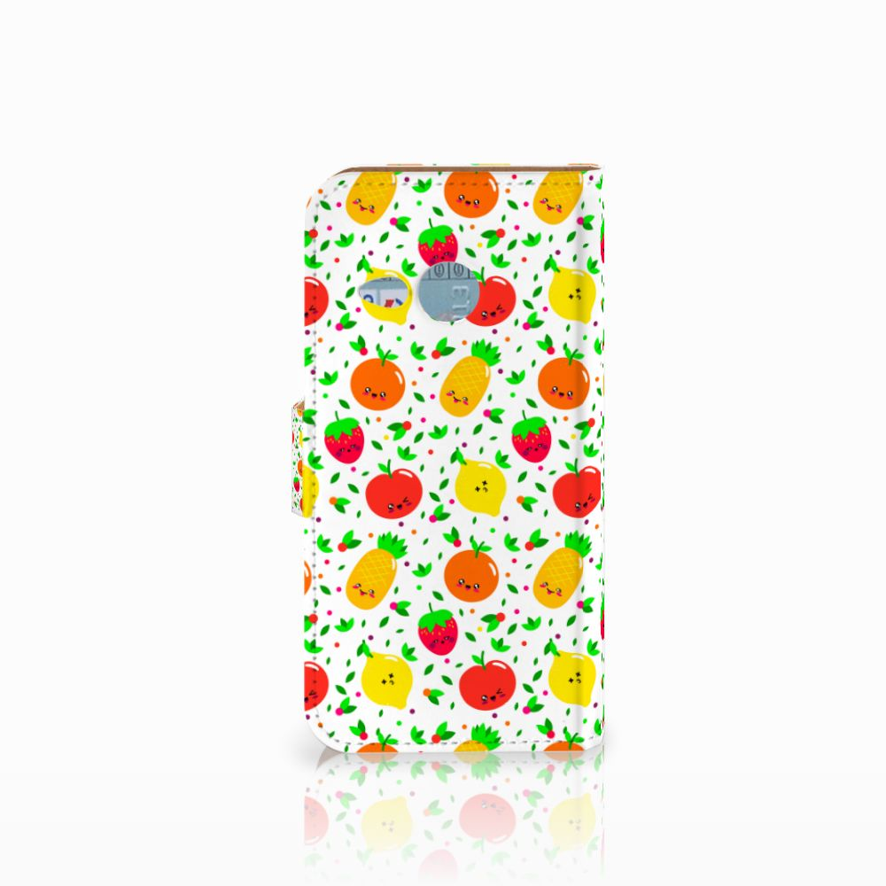 HTC One Mini 2 Book Cover Fruits