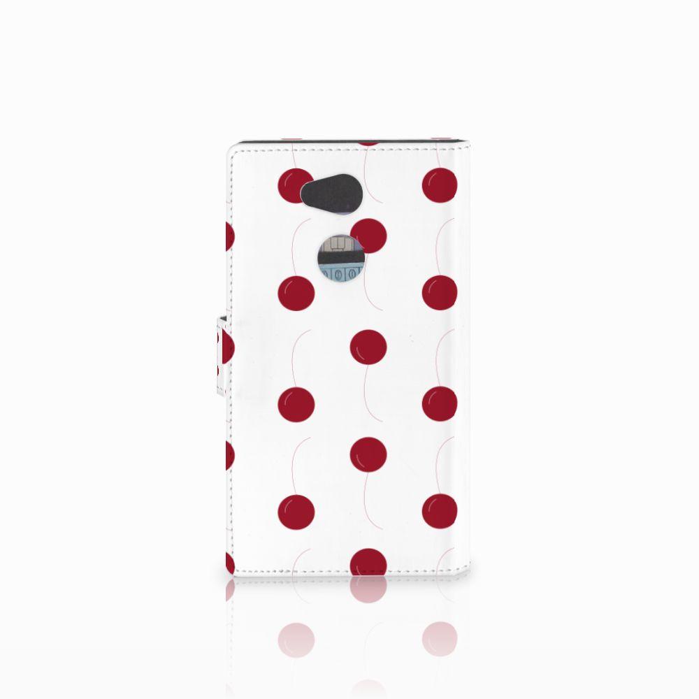Sony Xperia L2 Book Cover Cherries