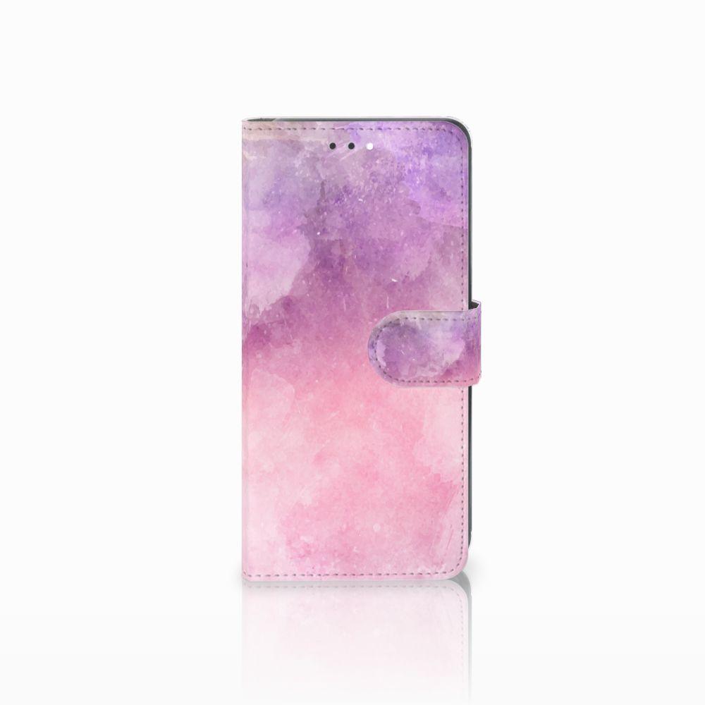 Hoesje Huawei Y7 2018 Pink Purple Paint