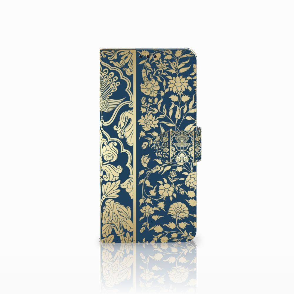 Huawei P Smart Plus Boekhoesje Golden Flowers
