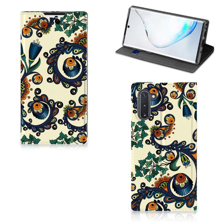 Telefoon Hoesje Samsung Galaxy Note 10 Barok Flower