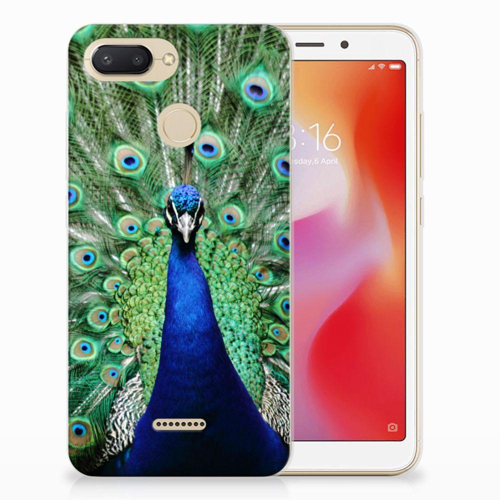 Xiaomi Redmi 6 TPU Hoesje Pauw