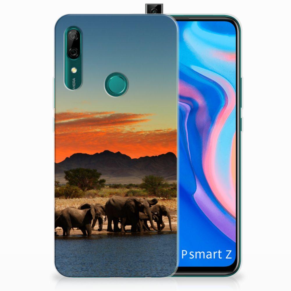 Huawei P Smart Z TPU Hoesje Olifanten