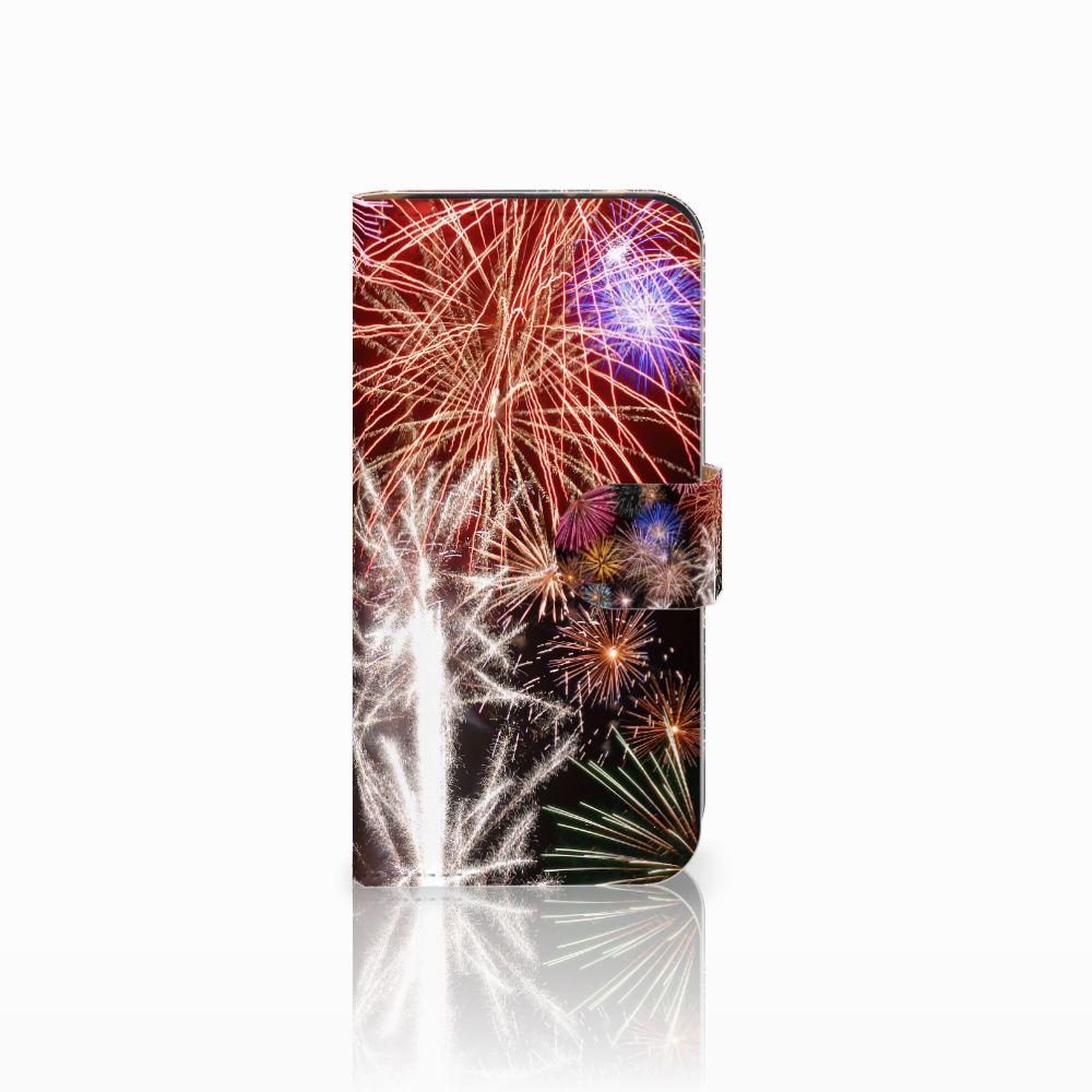 HTC One Mini 2 Boekhoesje Design Vuurwerk