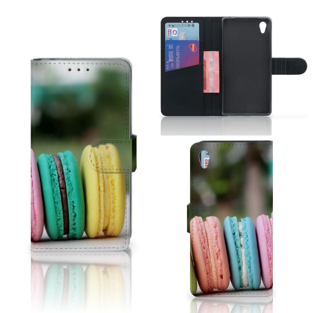 Sony Xperia Z2 Book Cover Macarons