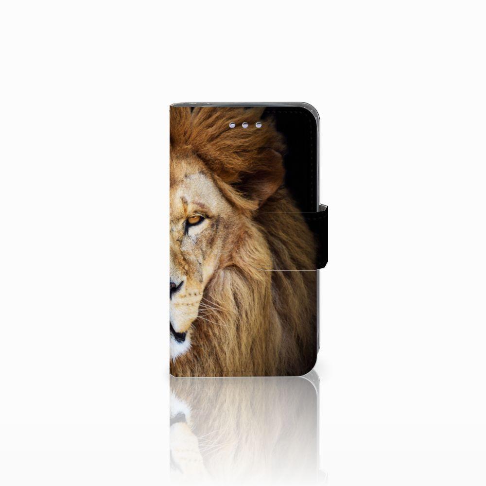 Samsung Galaxy S3 Mini Boekhoesje Design Leeuw