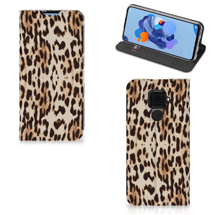 Huawei Mate 30 Lite Hoesje maken Leopard