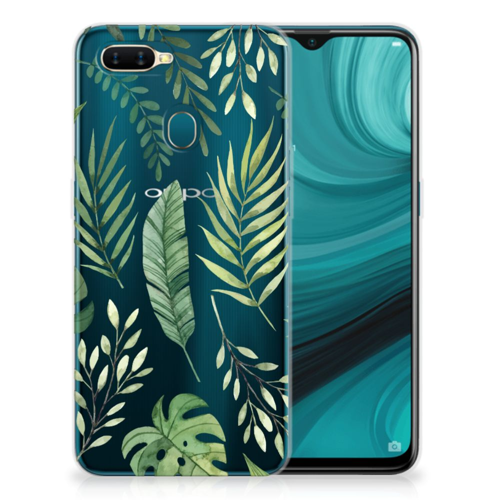 OPPO AX7 TPU Case Leaves