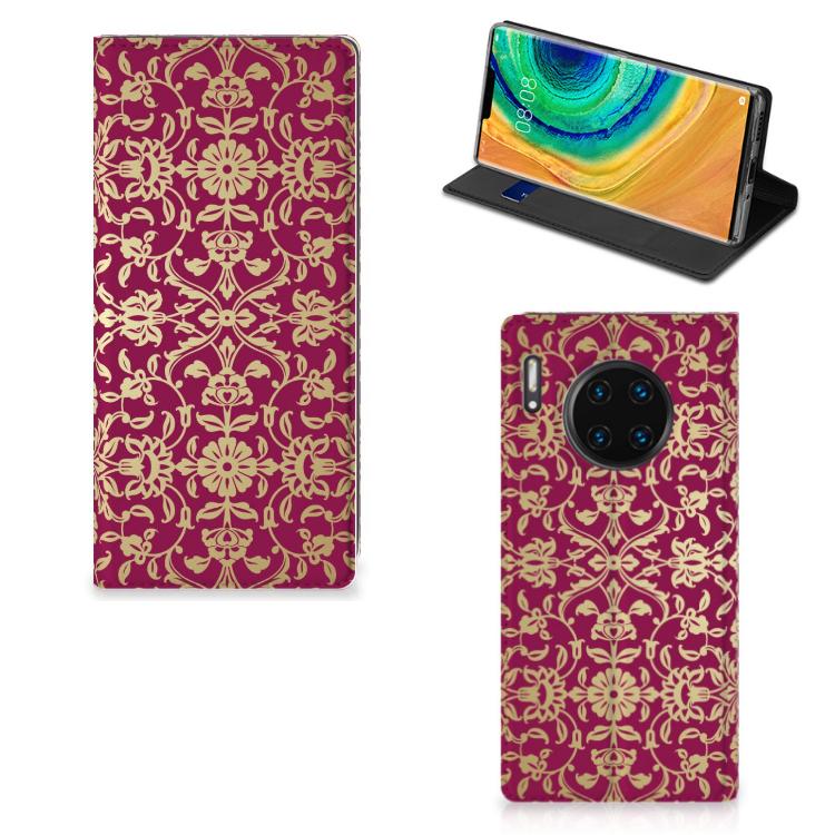 Telefoon Hoesje Huawei Mate 30 Pro Barok Pink