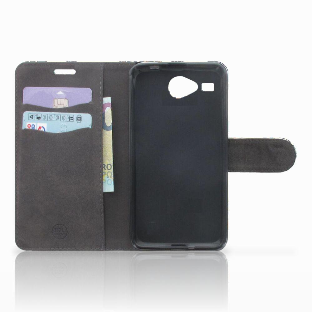 Wallet Case Acer Liquid Z520 Barok Flower