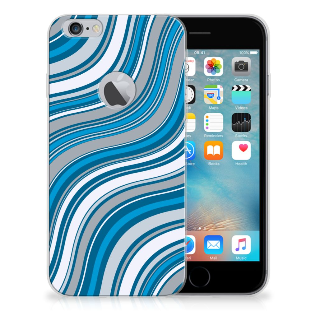 Apple iPhone 6 Plus | 6s Plus TPU bumper Waves Blue