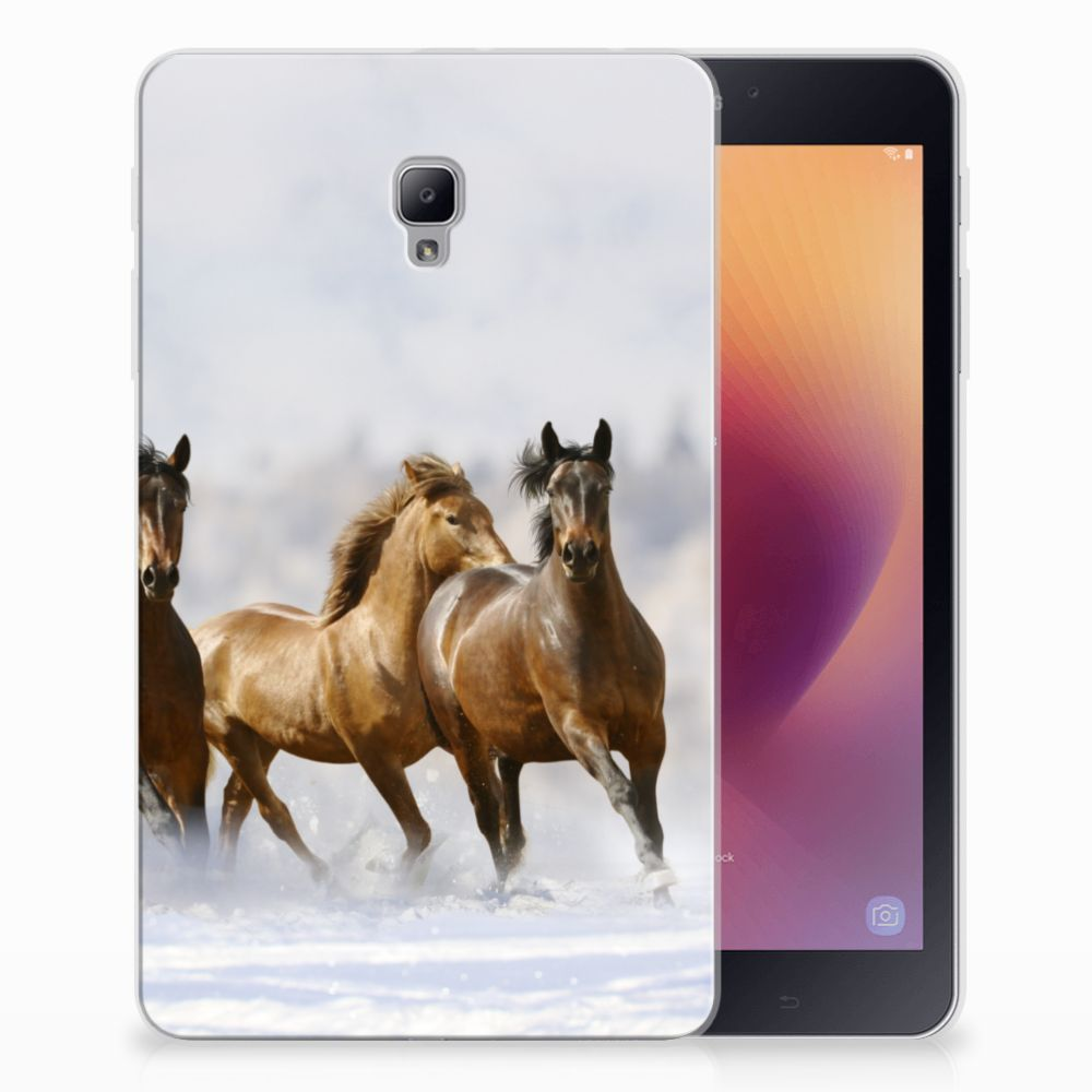 Samsung Galaxy Tab A 8.0 (2017) Back Case Paarden