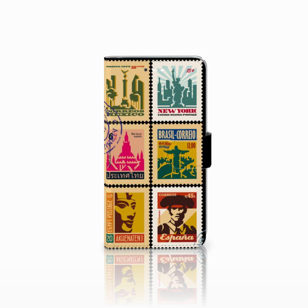 Huawei Ascend G7 Uniek Boekhoesje Postzegels