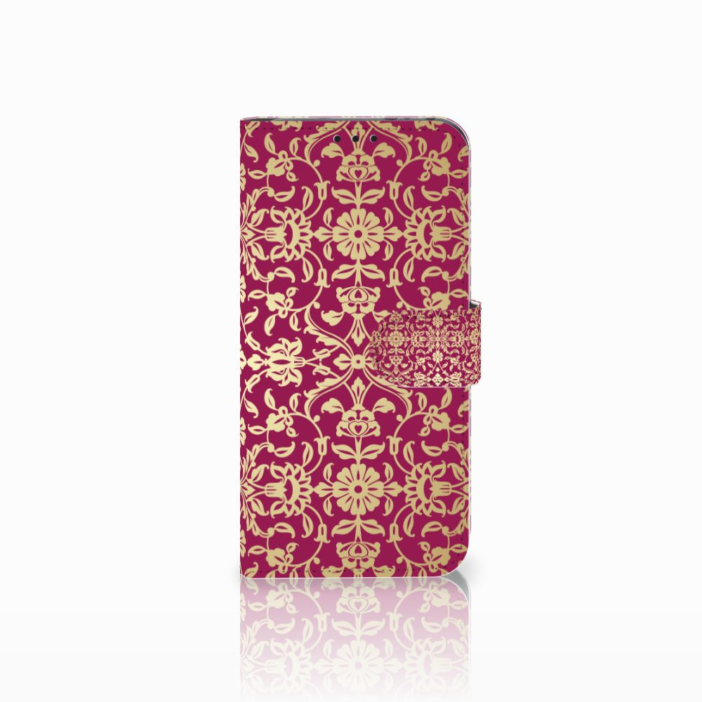 Honor View 20 Boekhoesje Design Barok Pink