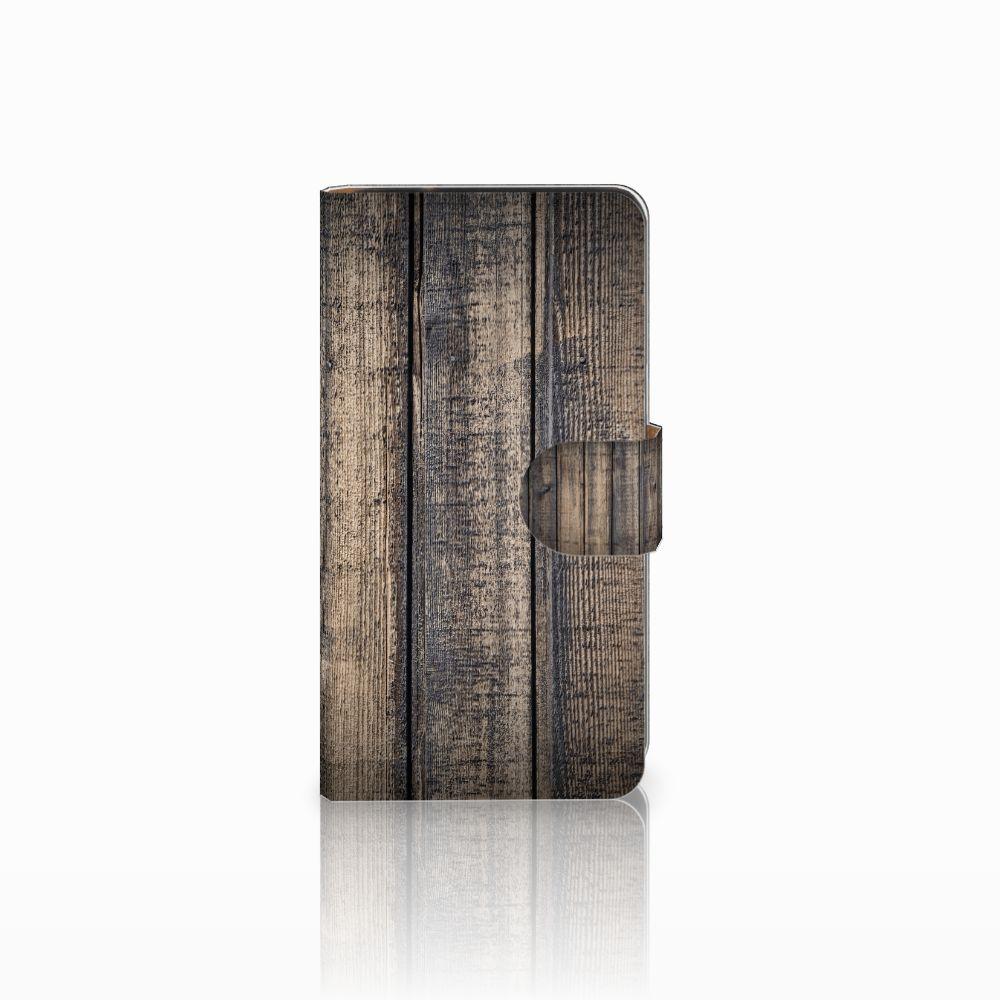 Samsung Galaxy J2 (2015) Boekhoesje Design Steigerhout