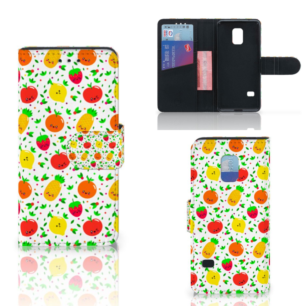 Samsung Galaxy S5 Mini Book Cover Fruits