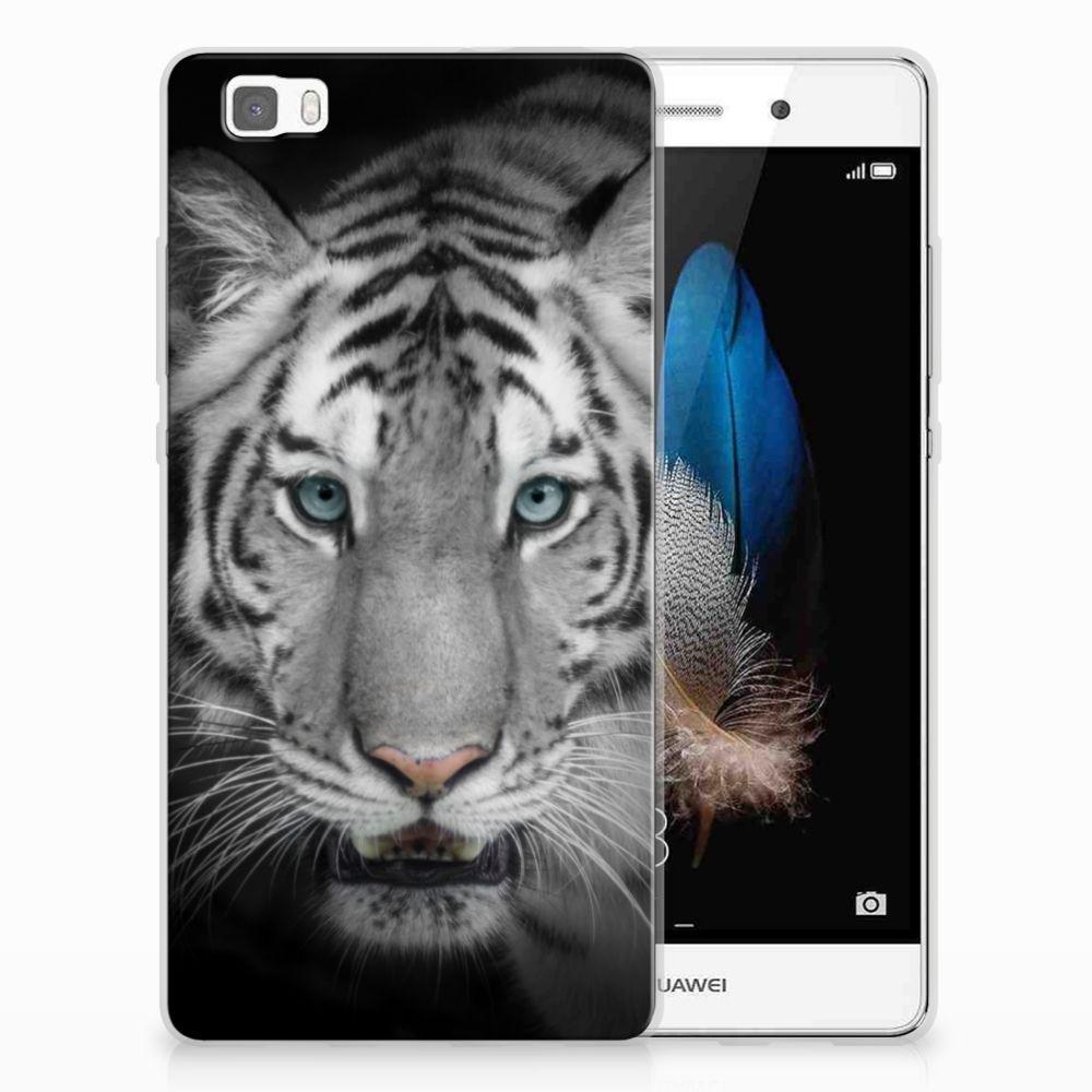 Huawei Ascend P8 Lite TPU Hoesje Tijger