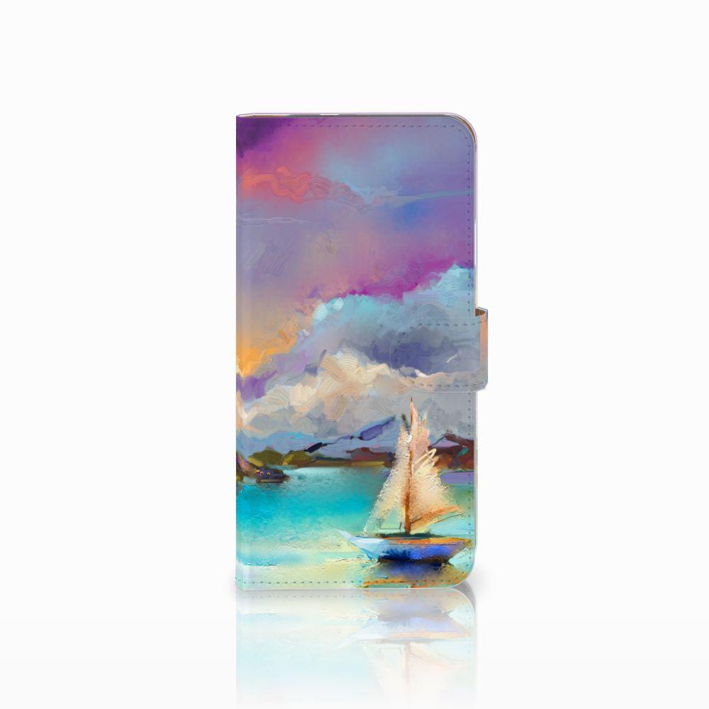 Google Pixel XL Uniek Boekhoesje Boat