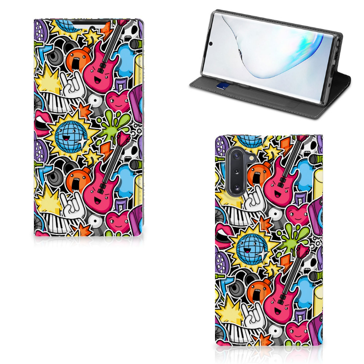 Samsung Galaxy Note 10 Hippe Standcase Punk Rock