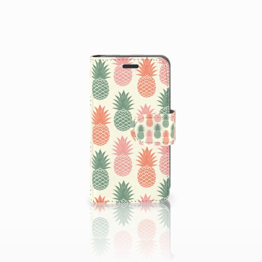 Nokia Lumia 520 Boekhoesje Design Ananas