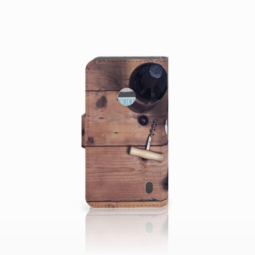 Nokia Lumia 520 Book Cover Wijn