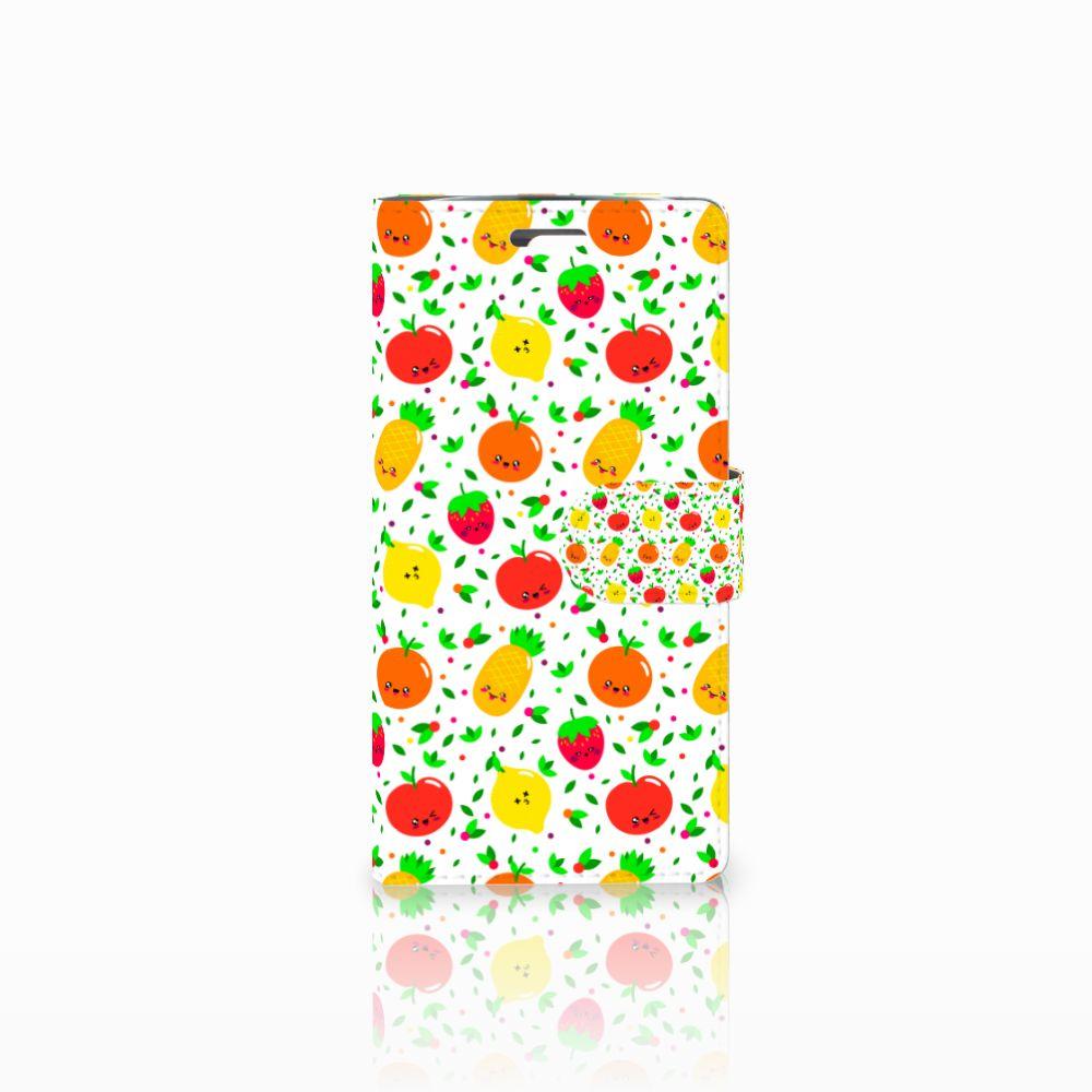 LG K10 2015 Boekhoesje Design Fruits